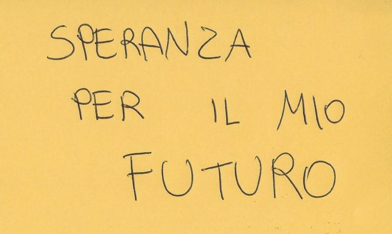 1.25 speranza per il mio futuro